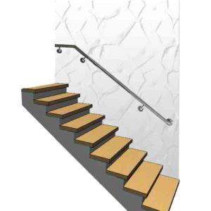 поручні для сходів, поручень, поручні, поручні з нержавійки, поручні из нержавейки