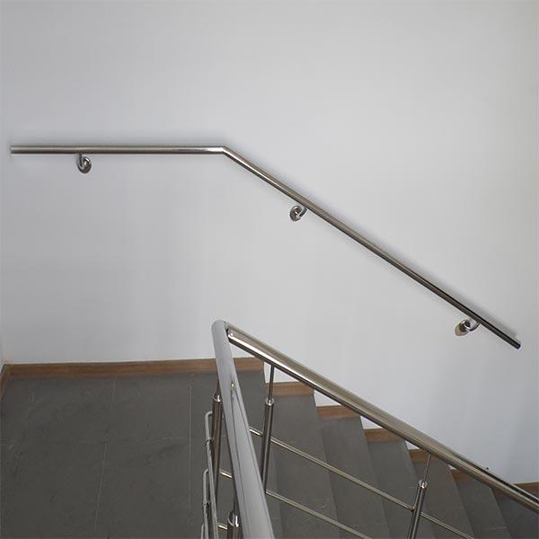Поручни на лестницу. Поручні на сходи