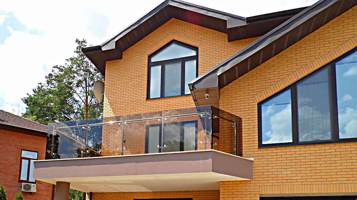 Балкон. Перила. Перила на балкон